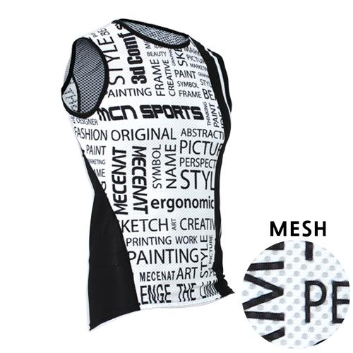 Mcn [MTM-KMESH-PAPER]페이퍼 K-매쉬 민소매 이너웨어